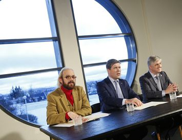 Óttarr Proppé, Bjarni Benediktsson og Benedikt Jóhannesson forystumenn nýrrar ríkisstjórnar.