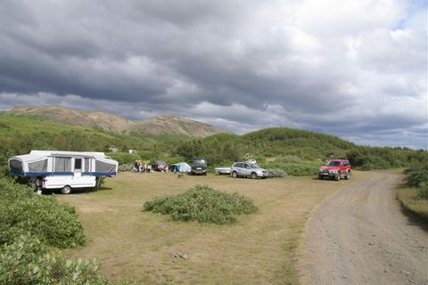Þjórsárdalur Camping Ground