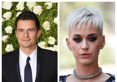 Orlando Bloom og Katy Perry eru sögð vera byrjuð aftur saman.