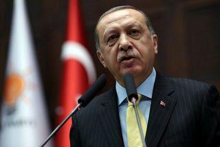 Ekki tókst að hrekja Recep Tayyip Erdogan, forseta Tyrklands, frá völdum í valdaránstilrauninni.