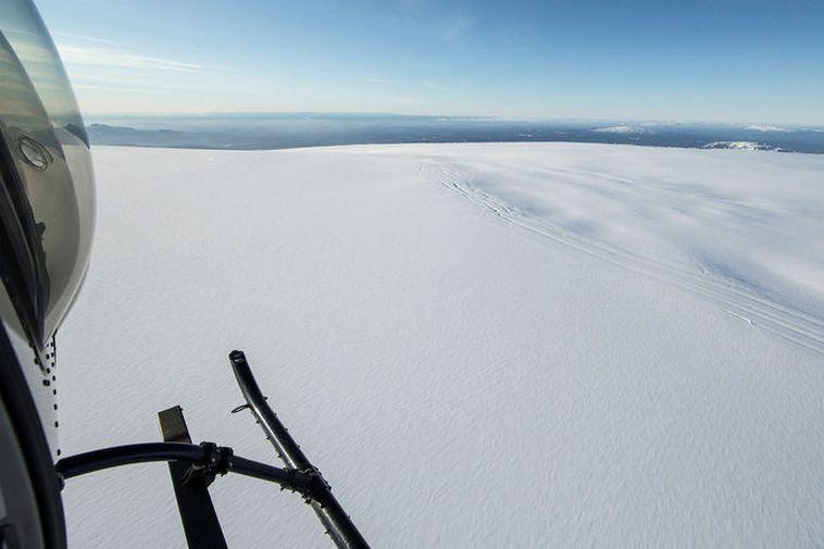 Bárðarbunga is located in the Vatnajökull ice cap.