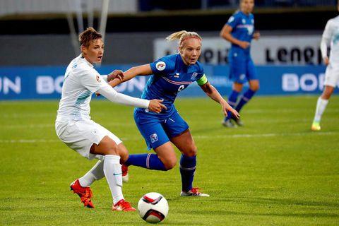 Iceland beat Slovenia last week.