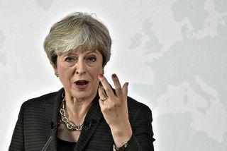 Theresa May, forsætisráðherra Bretlands, flytur ræðu sína í dag í Flórens á Ítalíu.