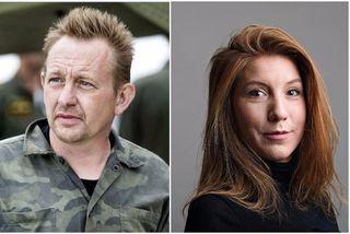 Peter Madsen er 46 ára frumkvöðull. Kim Wall var þrítugur, sænskur blaðamaður.