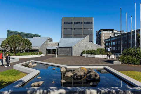 The Central bank of Iceland in Reykjavik.