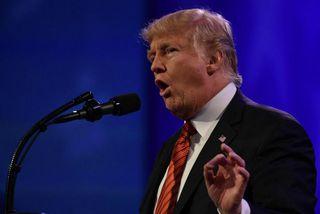 Donald Trump Bandaríkjaforseti virðir það að Kim sé farin að virða Bandaríkin.