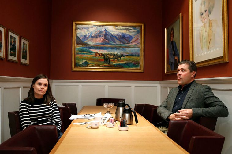 One year ago, on November 17th, Jakobsdóttir and Benediktsson tried to form a government coalition ...