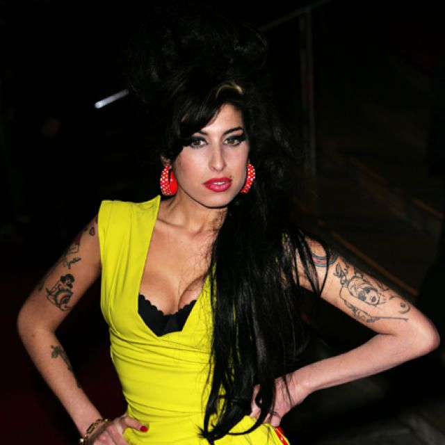 Amy Winehouse.     <em>mbl.is/COVER</em>