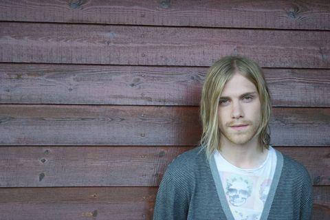Icelandic musician Einar Vilberg.