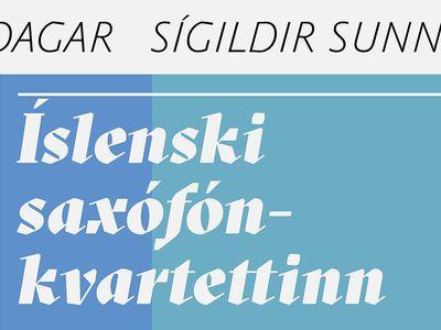 Íslenski saxófónkvartettinn -  Sígildir sunnudagar