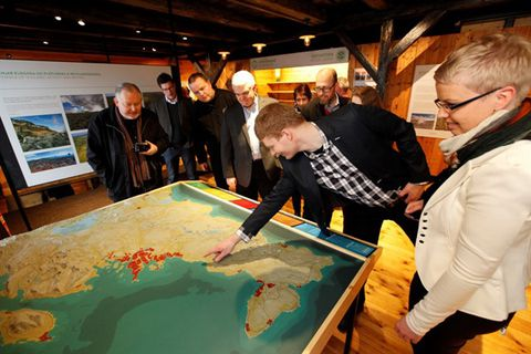 Reykjanes Geopark visitor center