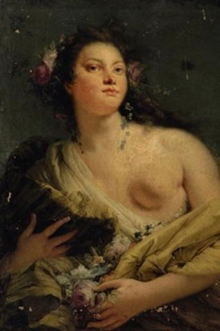 Verkið er eftir ítalska málarann Giambattista Tiepolo.
