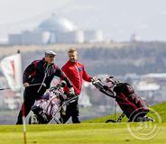 Golfarar á fagurgrænum Nesvelli