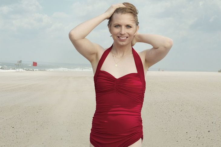 Chelsea Manning fyrir Vogue.