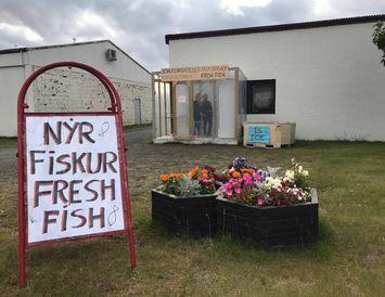 Fiskbúðin góða fór ekki framhjá neinum.