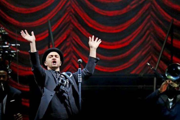 Justin Timberlake í Kórnum í Kópavogi
