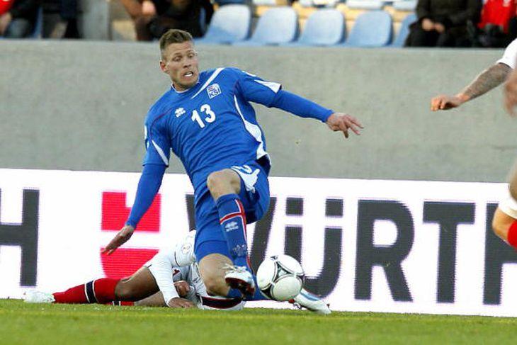 Bjarni Ólafur Eiríksson er kominn aftur til Valsmanna.