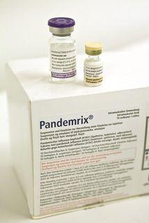 Bóluefnið Pandemrix er framleitt af GlaxoSmithKlein.