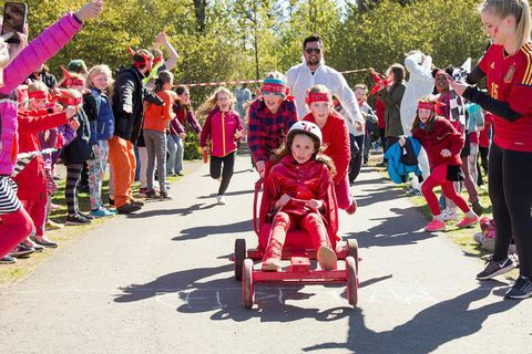 Plenty of activities for kids on Sunday at the Kátt á Klambra festival.