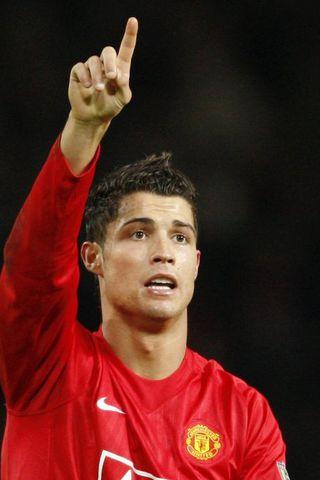 Cristiano Ronaldo leikmaður Manchester United er í liði ársin og ...