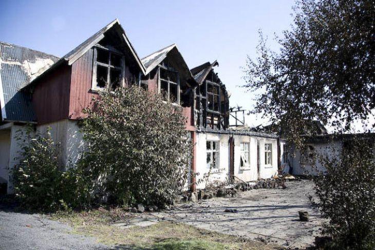 Eyðileggingin á Þingvöllum