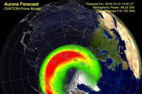 The Aurora Forecast