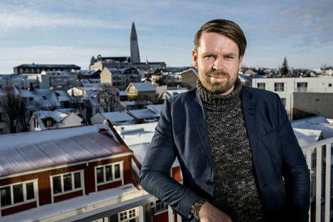 Þorsteinn B. Friðriksson, managing director of Plain Vanilla.