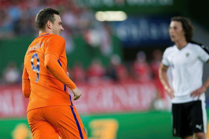 Vincent Janssen er kominn til Tottenham frá AZ Alkmaar en hann var markakóngur hollensku úrvalsdeildarinnar ...