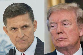 Michael Flynn var aðeins þjóðaröryggisráðgjafi Donalds Trump í nokkrar vikur.