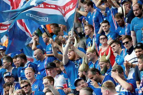 Seventy Icelanders had to turn away from the Stade de France without tickets.