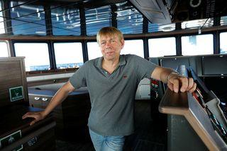 Friðleifur Einarsson, skipstjóri á Engey.