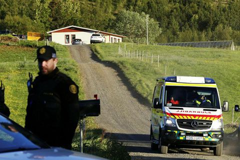 The victim was attacked at his home Æsustaðir in Mosfellsdalur, a few kilometres outside Reykjavik.