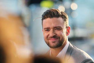 Justin Timberlake nýtur þess að vera utan sviðsljóssins og fann smá snjó til að nota ...