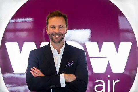 Skúli Mogensen, managing director of WOW air.