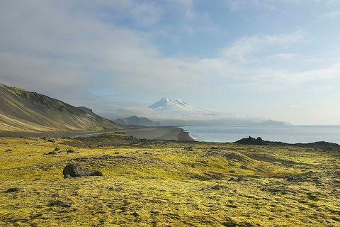 The Norwegian volcanic island of Jan Mayen.