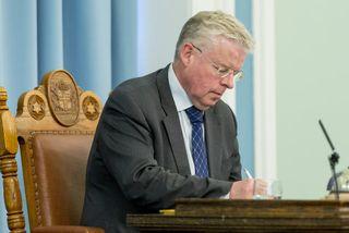 Einar K. Guðfinnsson, forseti Alþingis.