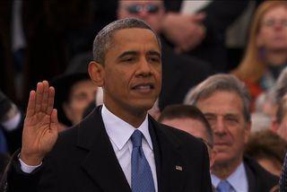 Sendi Obama heillaóskir