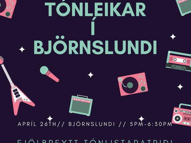 Concert in Björnslundi