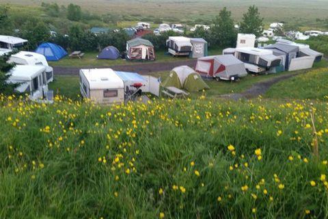 Hraunborgir Camping ground