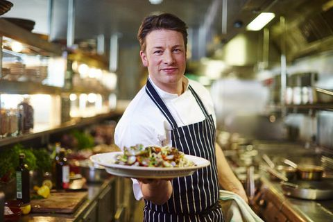 Jamie Oliver is one of the most famous chefs in the world.