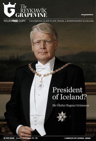 Ólafur Ragnar Grímsson, forseti Íslands. Myndin er tekin af vefsíðu embættisins sem opinber mynd af ...