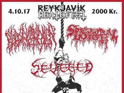 Reykjavík deathfest -Blood Incantation - Spectral Voice - Severed