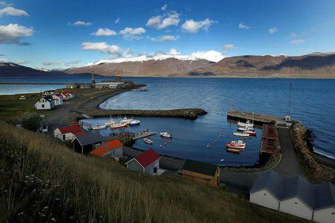 Hjalteyri, where the earthquakes originated.