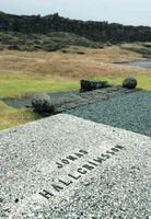 Legsteinn Jónasar Legsteinninn yfir gröf Jónasar í þjóðargrafreitnum á Þingvöllum.