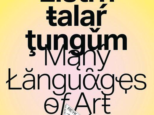 Many Languages of Art: Sign languages