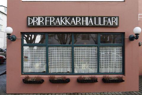 Þrír frakkar