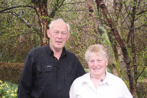 Ríta og Páll í Grenigerði