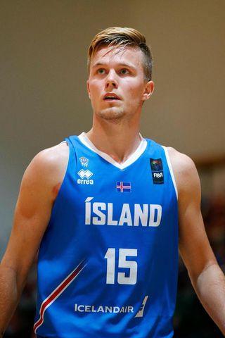 Martin Hermannsson var stigahæstur hjá Íslandi með 14 stig.