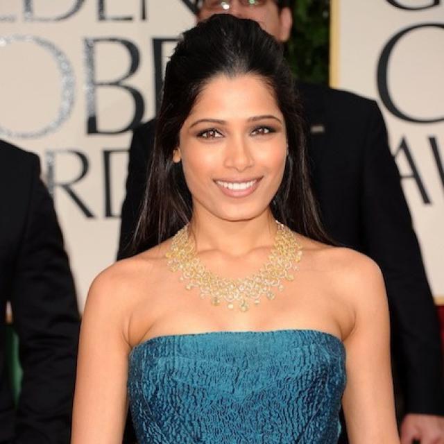 Freida Pinto.     <em>mbl.is/Cover Media</em>