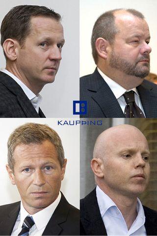 Hreiðar Már Sigurðsson, Sigurður Einarsson, Magnús Guðmundsson og Ingólfur Helgason ...